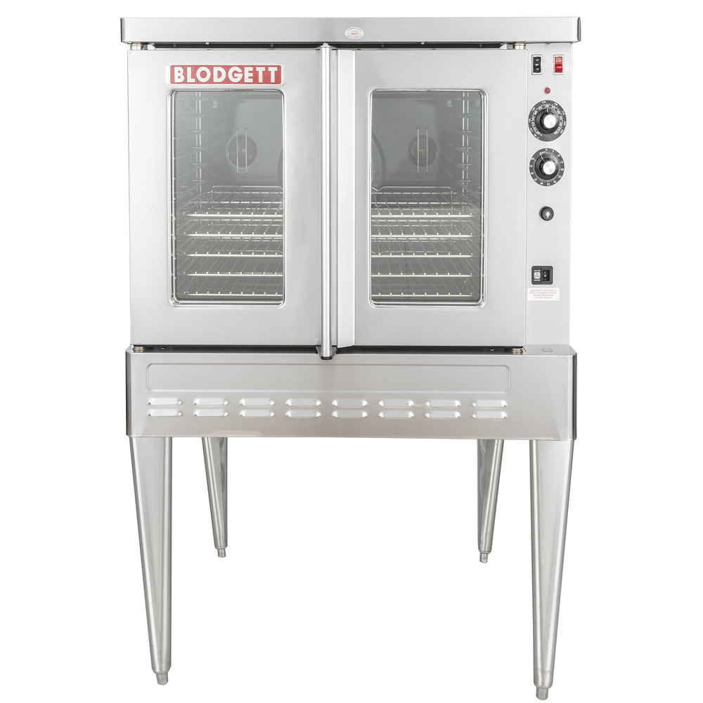 sho 100 g single deck full size gas convection oven 50 000 btu main picture