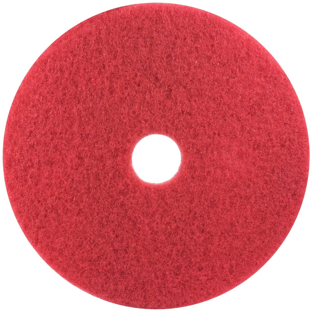 3m 5100 17 Quot Red Buffing Floor Pad 5 Case