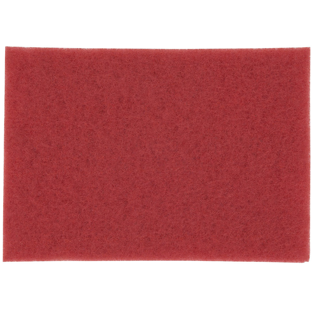 3m 5100 14 Quot X 20 Quot Red Buffing Pad 10 Case