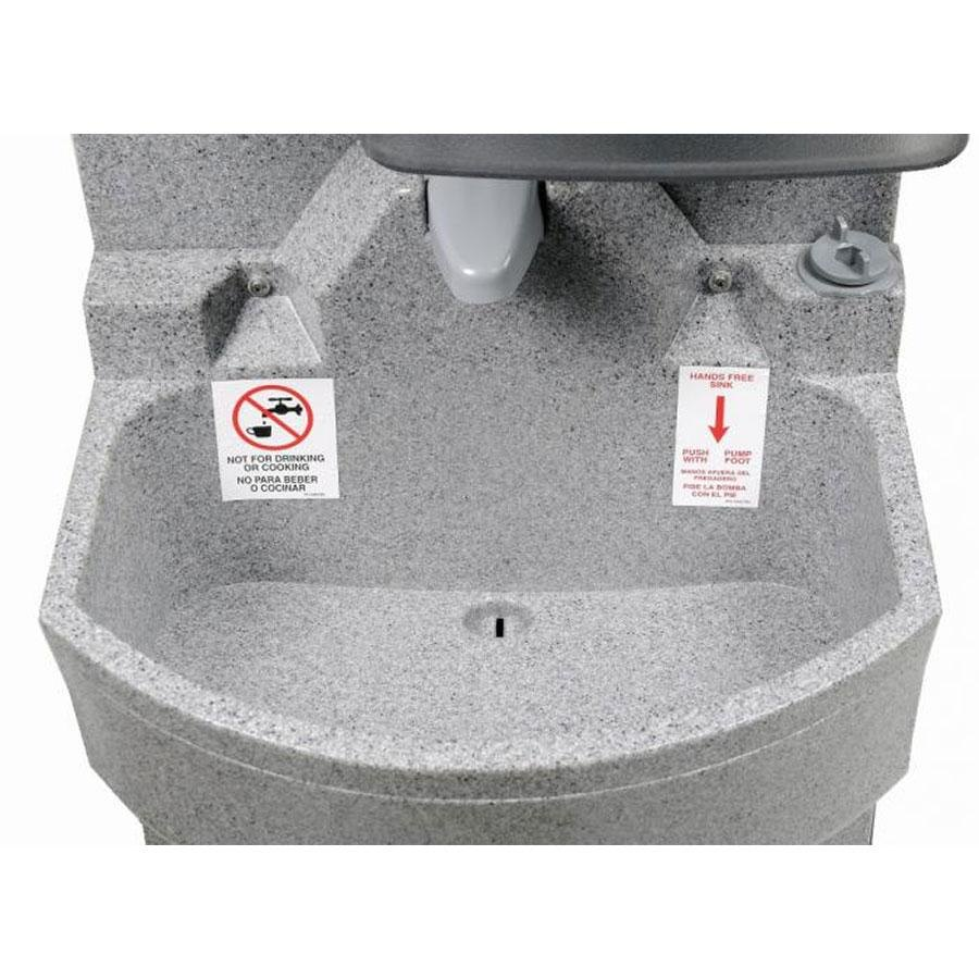 Crown Verity CV-EHS Economy Outdoor Portable Hand Sink ...