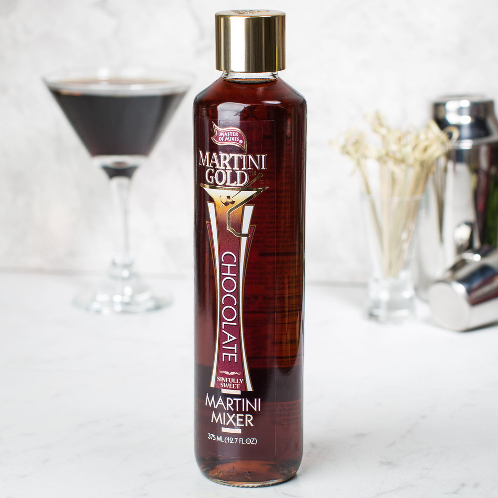 Master of Mixes Martini Gold Chocolate Martini Mix - 375 mL Bottle