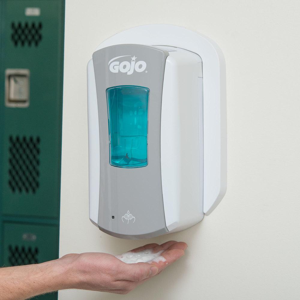 Gojo 1984 04 Ltx 12 1200 Ml Gray Touchless Hand Soap