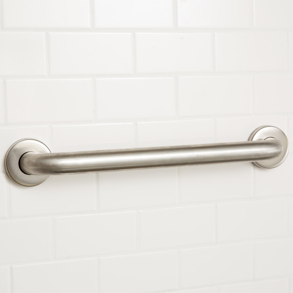 Grab Bars For Disabled : Regency quot handicapped restroom grab bar