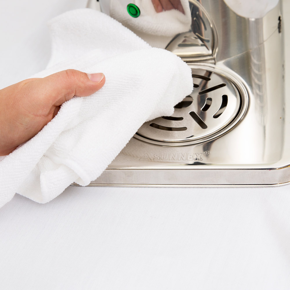 "Microfiber Cloth Guide: 12"" X 12"" White Microfiber Cleaning Cloth"