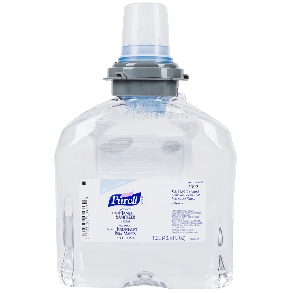 Purell 174 Advanced Foaming Instant Hand Sanitizer 2 Case