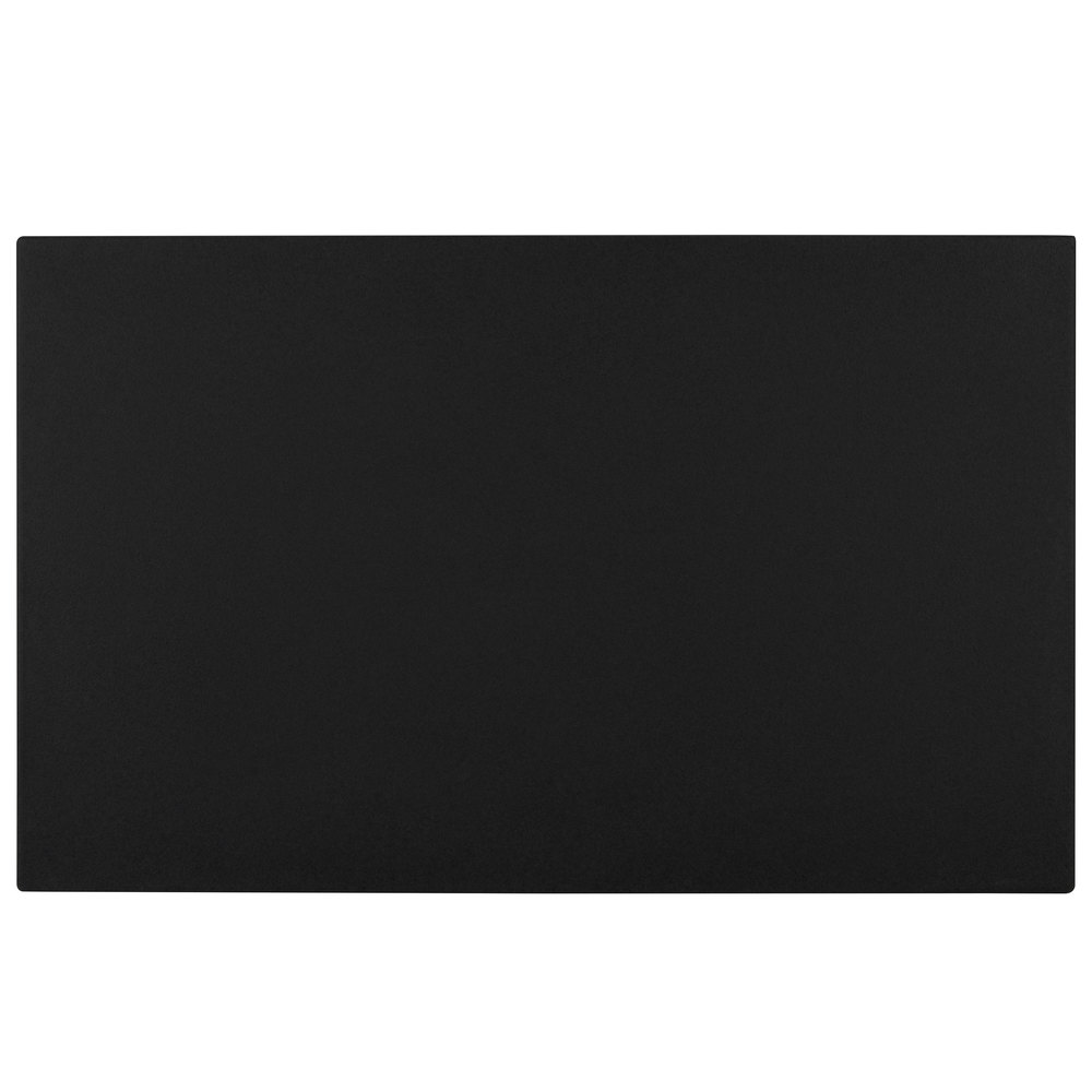 "Cambro WCR1220110 Black Full Size Well Cover For CamKiosk and Camcruiser Vending Carts 21""L x 13""W x 2""H"