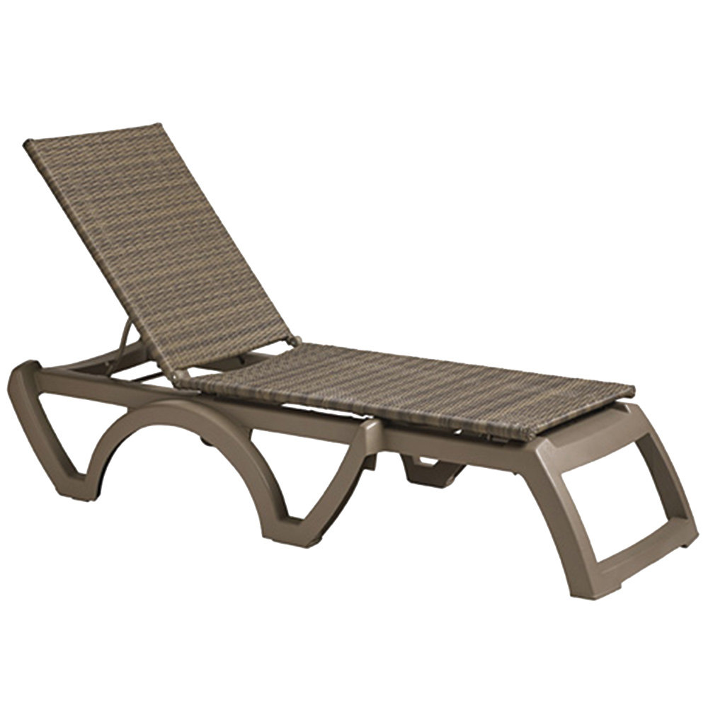 Grosfillex us465281 us524681 java taupe moccacino - Chaise miami grosfillex ...