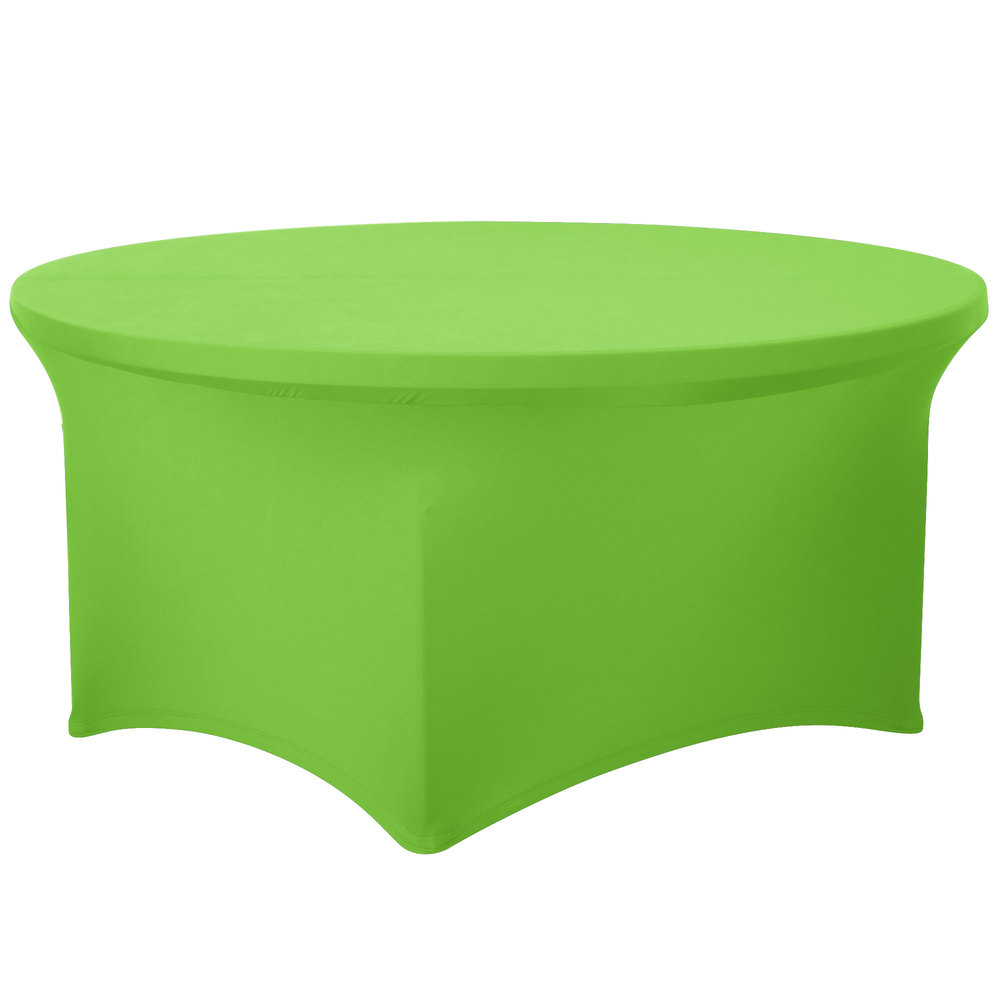... Lime Green Spandex Table Cover. Main Picture ...