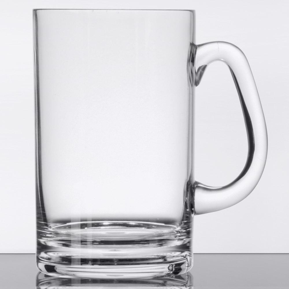 Get Sw 1464 Cl 20 Oz Customizable Clear Plastic Beer Mug