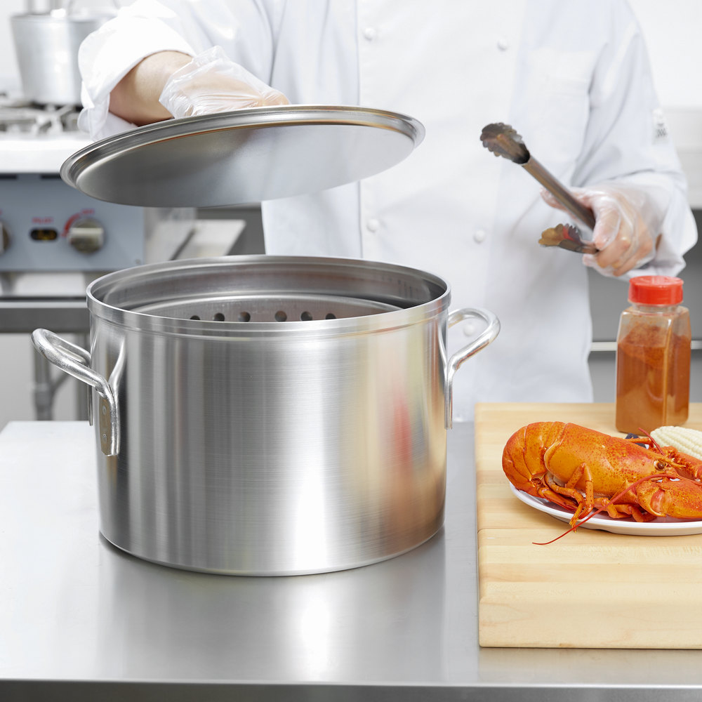 Vollrath 68271 Wear-Ever 20 Qt. Boiler / Fryer Set