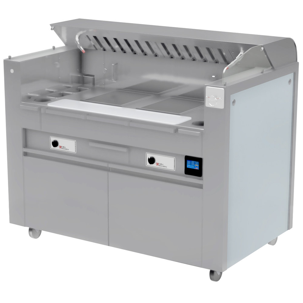 Mobile Kitchen Equipment Kaliber Innovations Mc 59 Fps R7 R7 Valere Series Mobile Induction