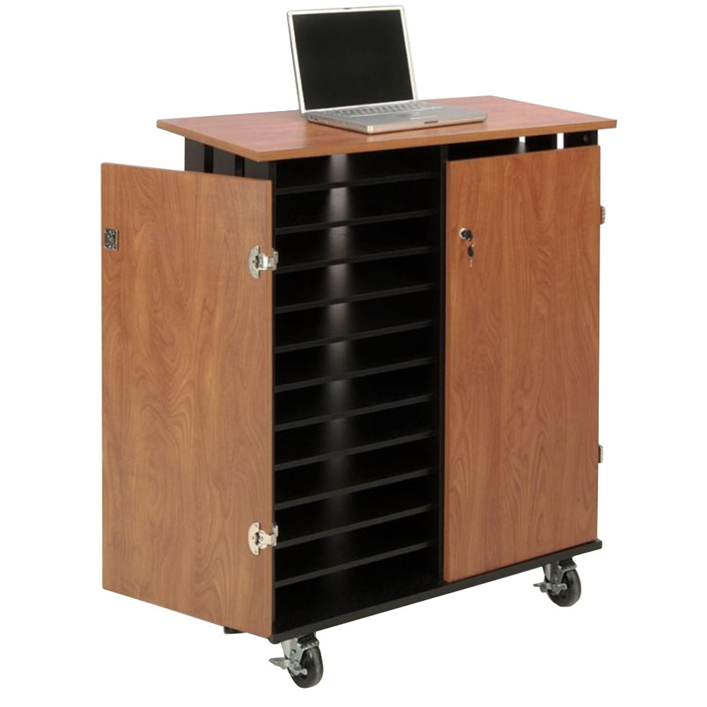 Oklahoma Sound Lcsc 24 Laptop Charging Station And Storage