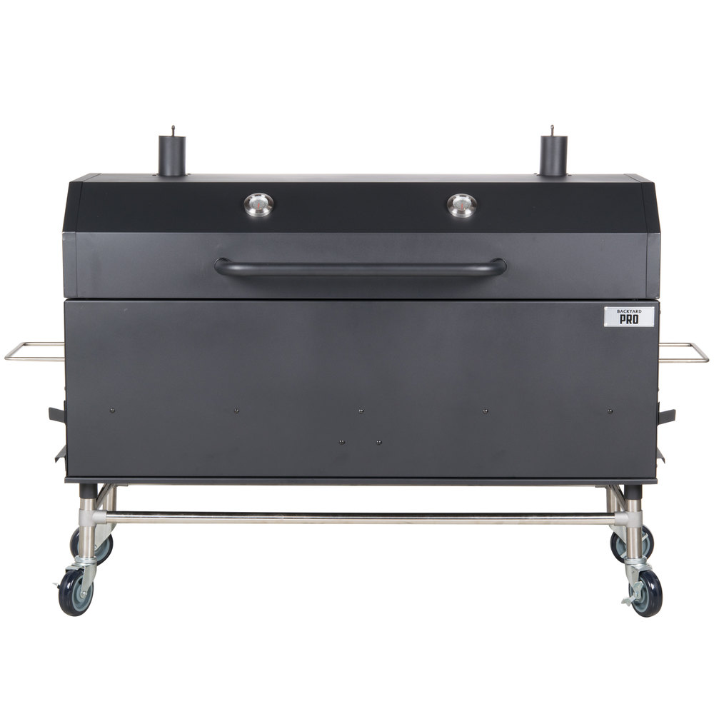 Backyard Pro 60 Quot Charcoal Wood Smoker