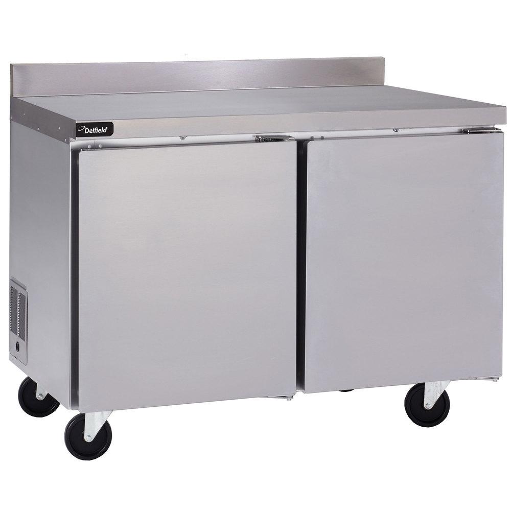 Delfield Guf48bp S 48 Quot Two Door Worktop Freezer With