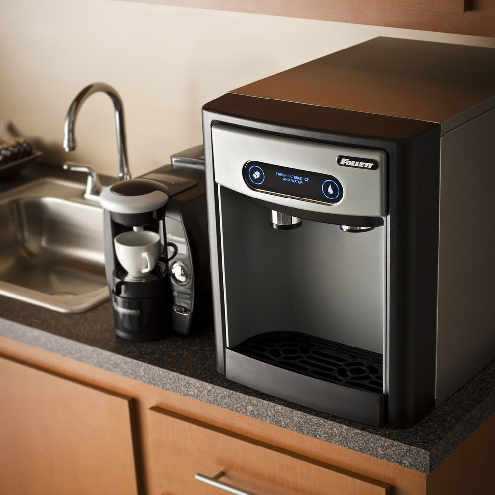 Where To Buy Countertop Ice Maker : Follett 7CI100A 7 Series Countertop Ice Maker and Water Dispenser with ...