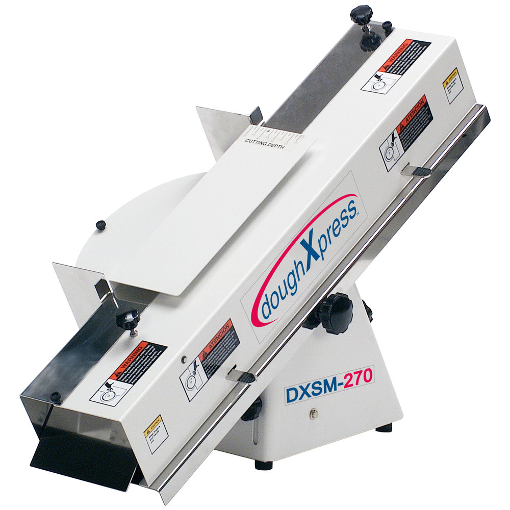 DoughXpress DXSM-270 French Bread / Bun and Bagel Slicer