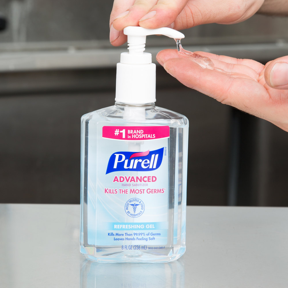 exporting purell hand sanitize Buy purell advanced hand sanitizer refreshing gel 8 oz: hand sanitizers - amazoncom free delivery possible on eligible purchases.