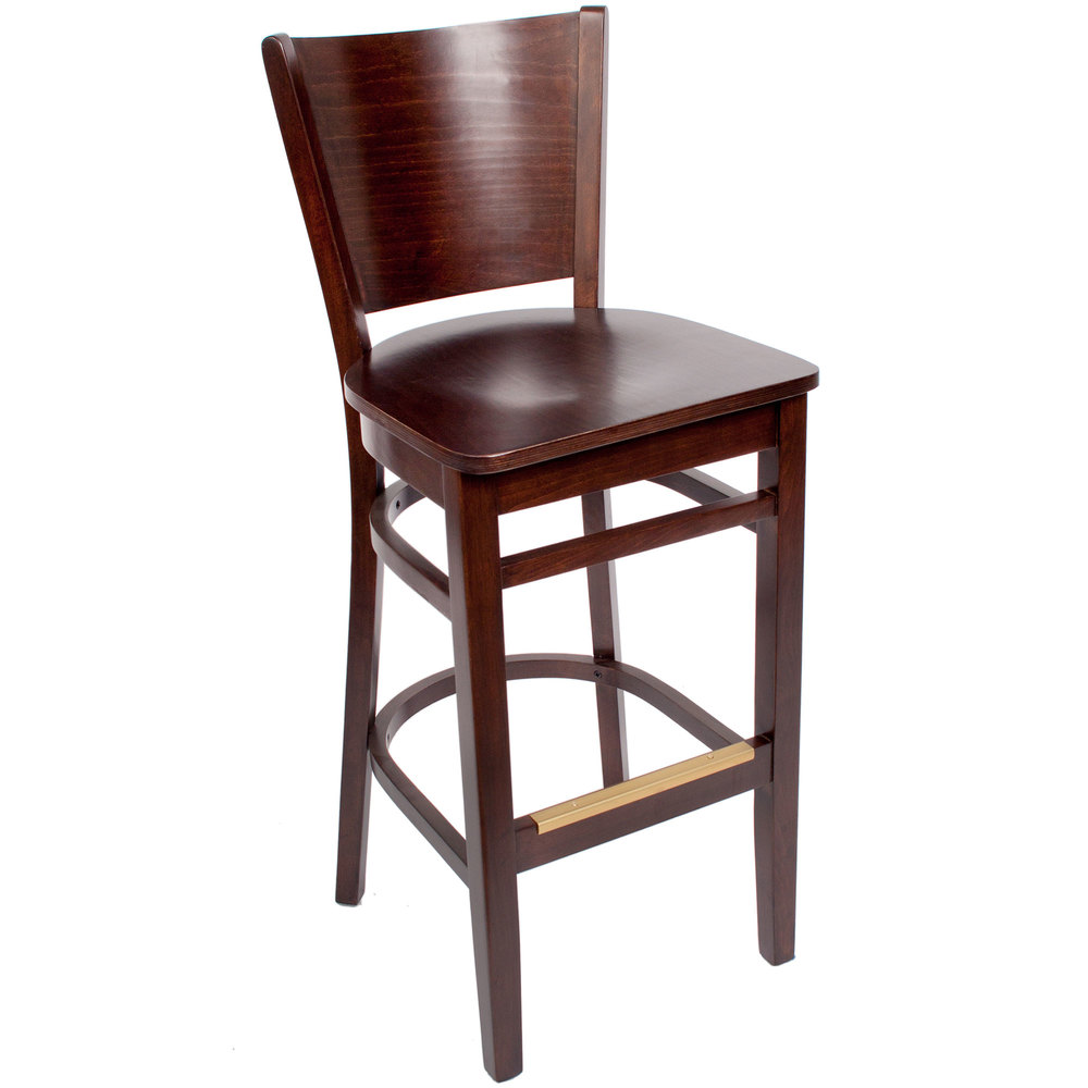 Bfm Seating Swb301cw Cw Merion Classic Walnut Colored
