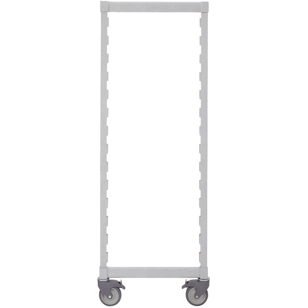 "Cambro Camshelving Premium CPMPK2167480 Mobile Post Kit 21"" x 67"""