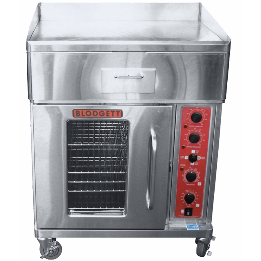 G Electric Ctb G Electric Range With 30 Griddle Top And Convection Oven Base