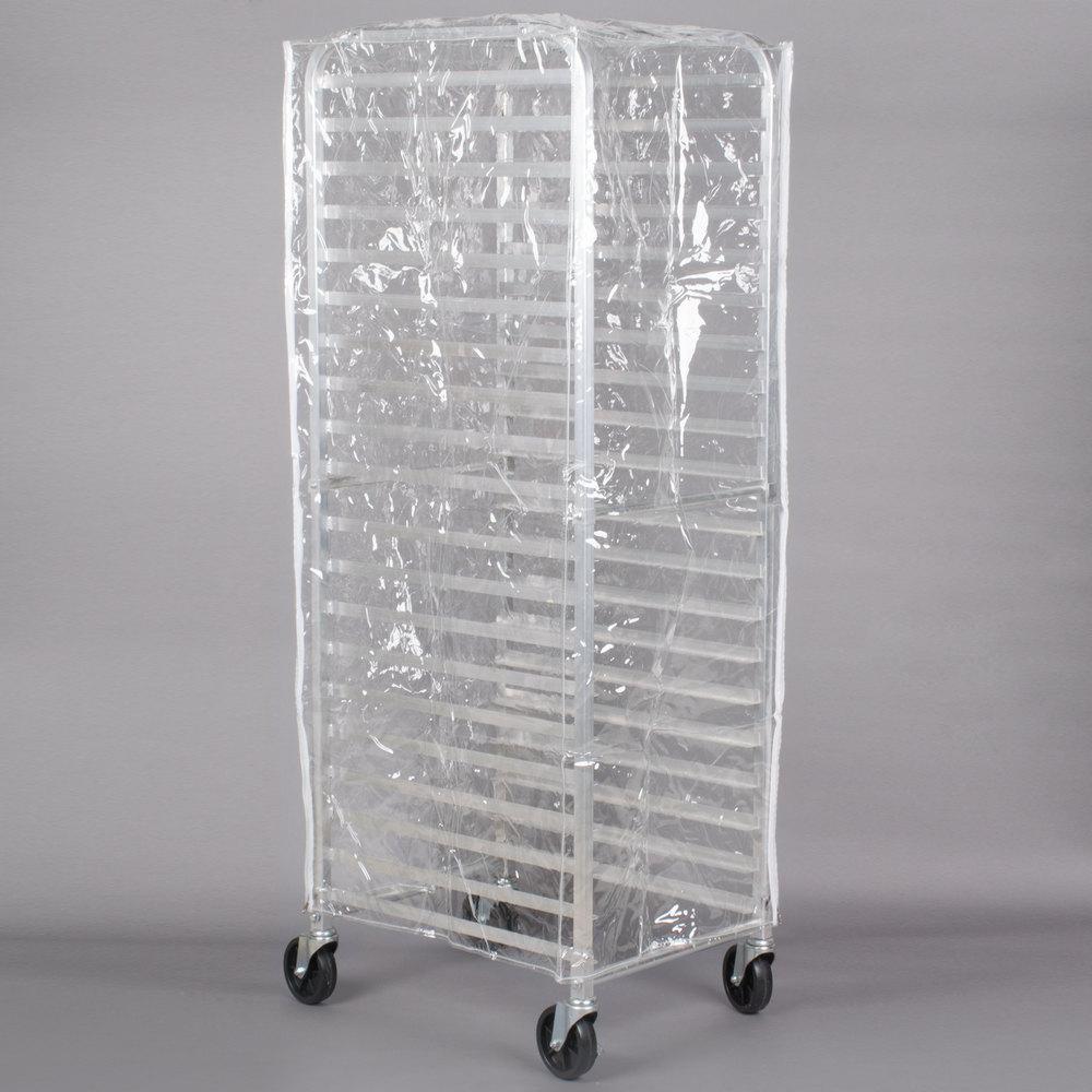 Regency 63 Quot Clear 8 Mil Full Size Plastic Bun Pan Rack