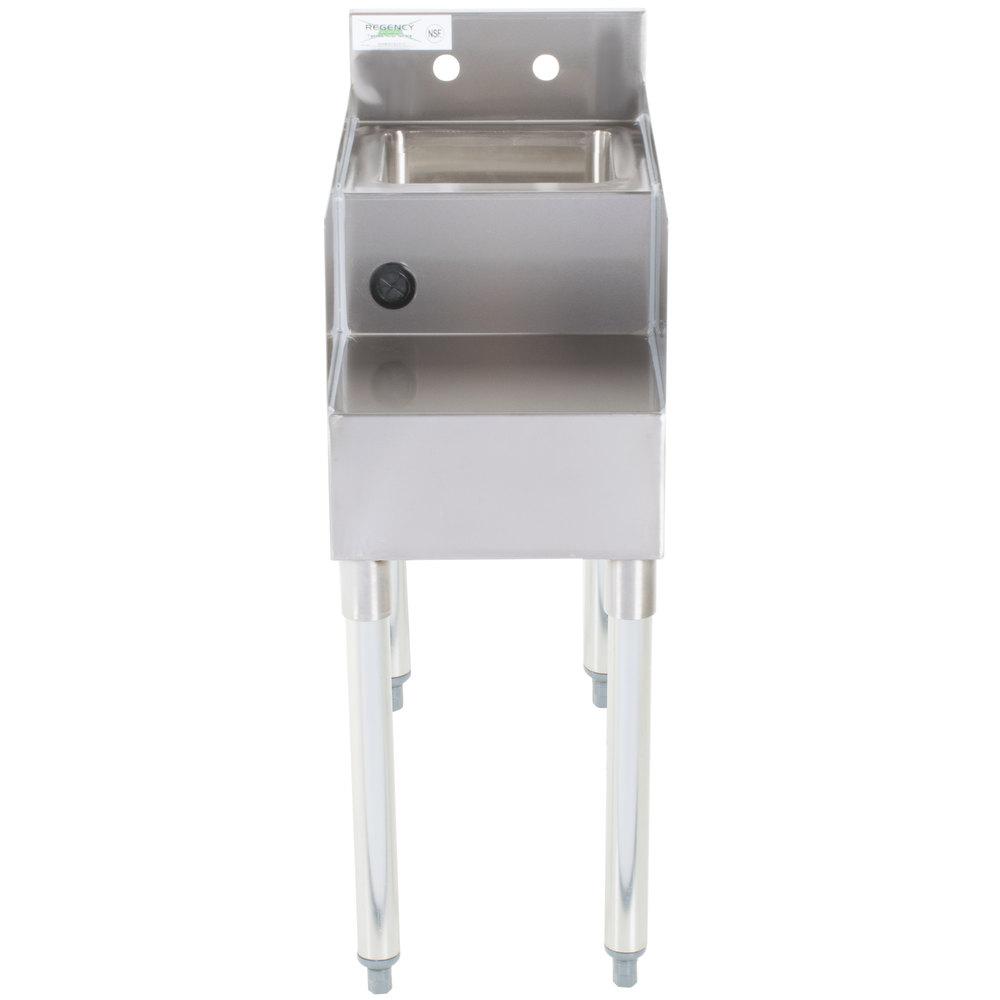 Stainless Steel Blender ~ Regency quot stainless steel blender station with