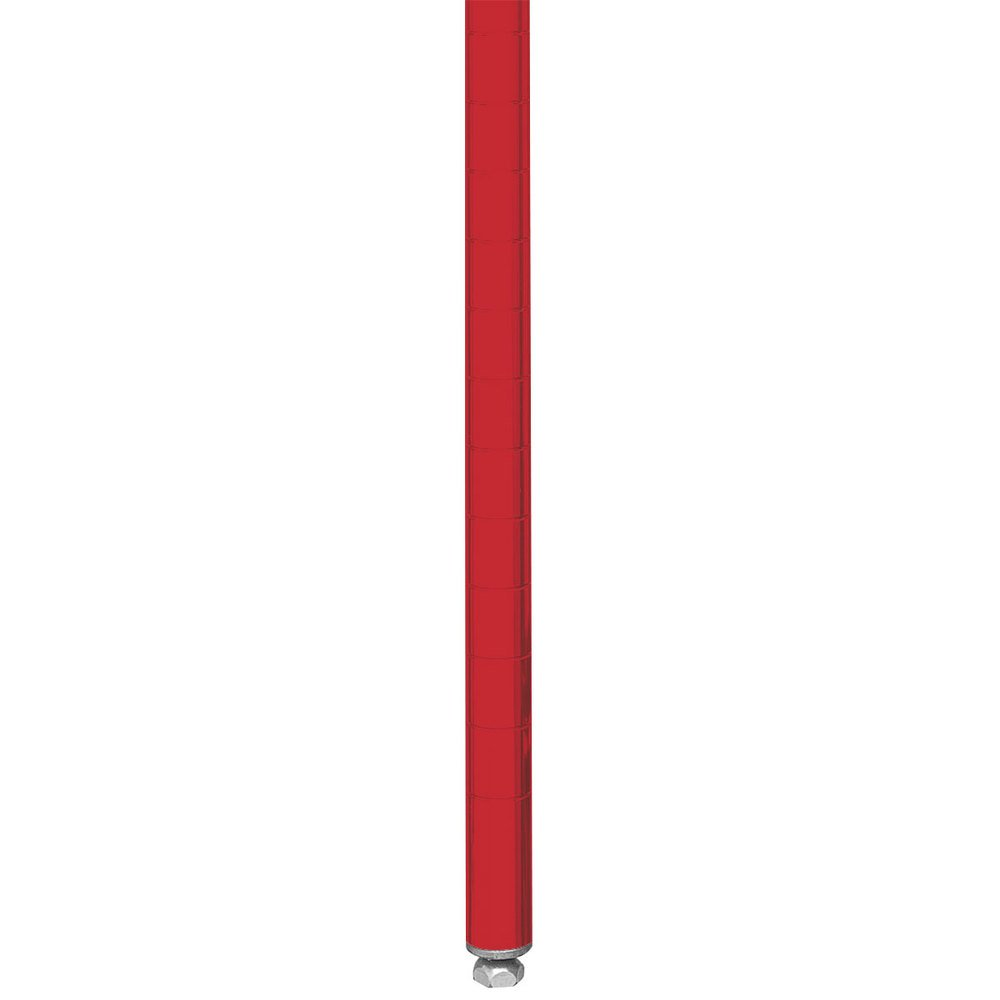 "Metro 27PF Stationary Super Erecta 27"" Post - Flame Red Finish"