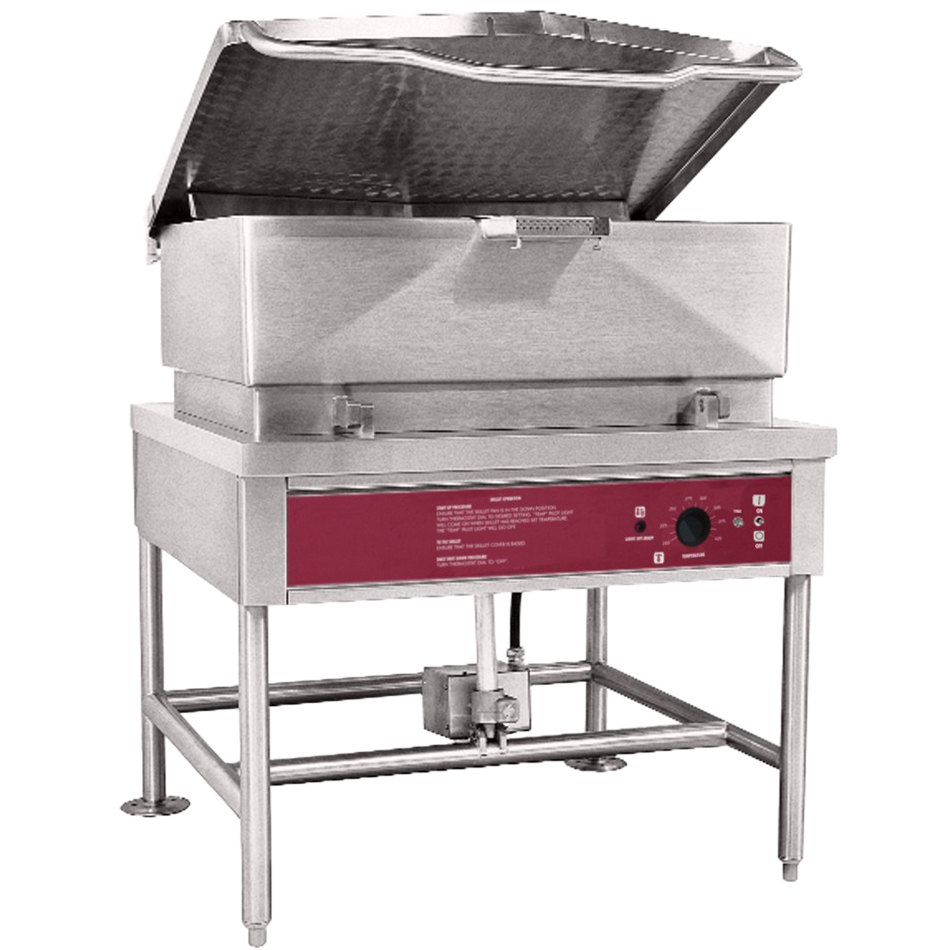 Blodgett Blp 40e 40 Gallon Power Tilt Electric Braising