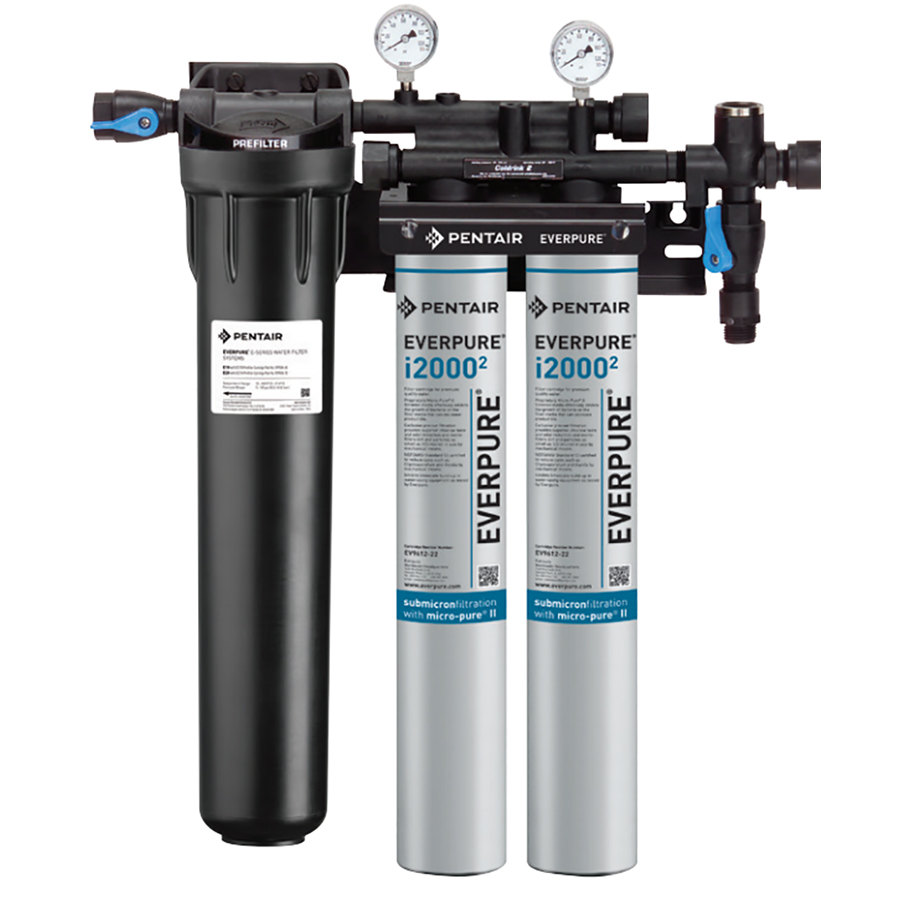 Everpure ev9324 22 insurice twin pf i20002 water for Everpure filtration system