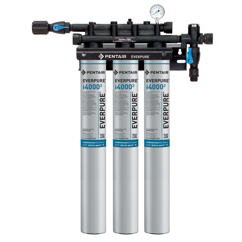 Everpure ev9325 03 insurice triple i40002 water filtration for Everpure water filtration system