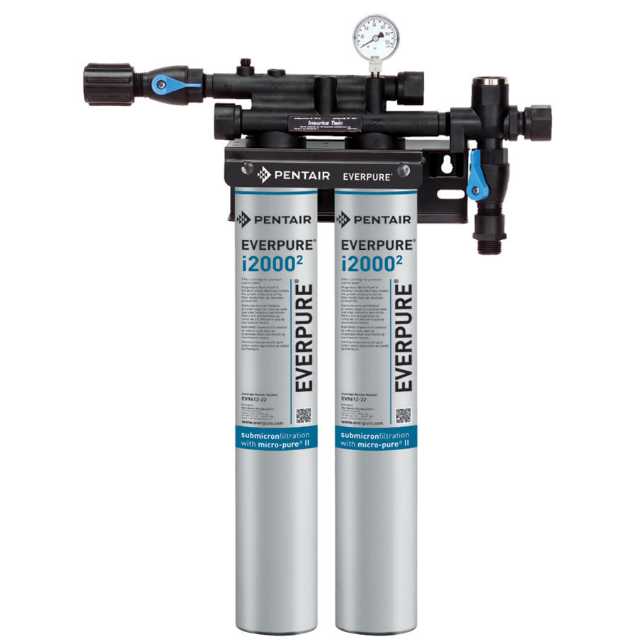 Everpure ev9324 02 insurice twin i20002 water filtration for Everpure filtration system