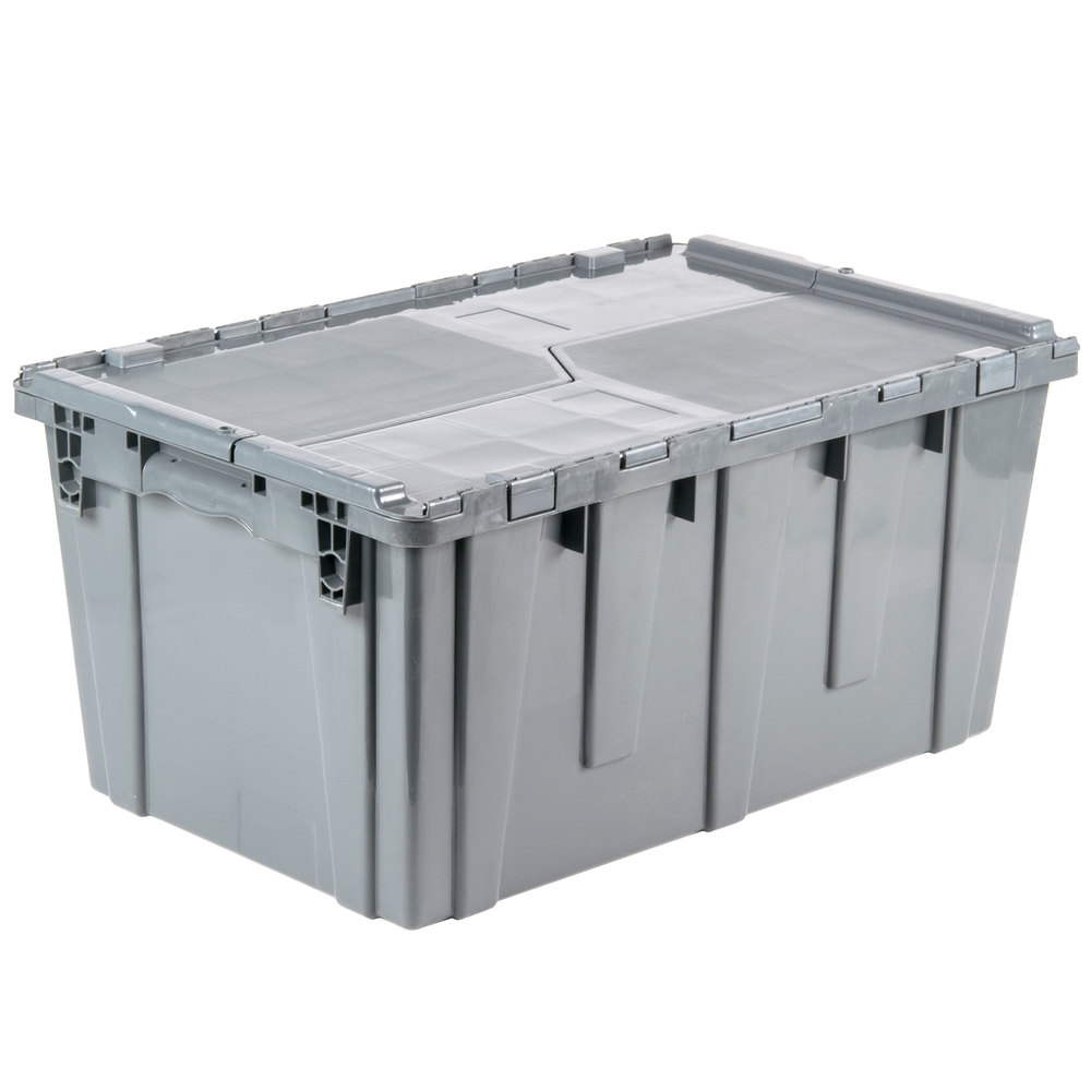 25 Quot X 15 Quot X 12 Quot Gray Chafer Storage Box