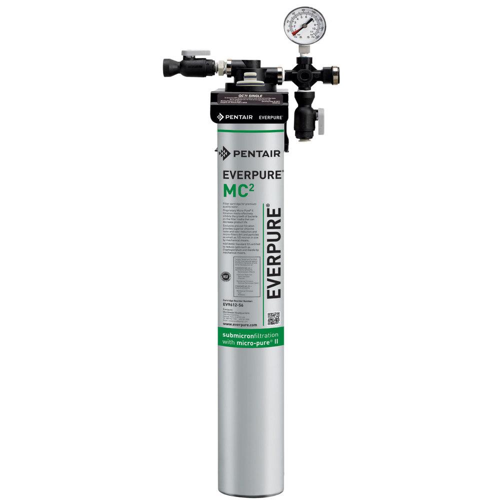 Everpure ev9275 01 qc71 single mc2 filtration system 5 for Everpure filter system