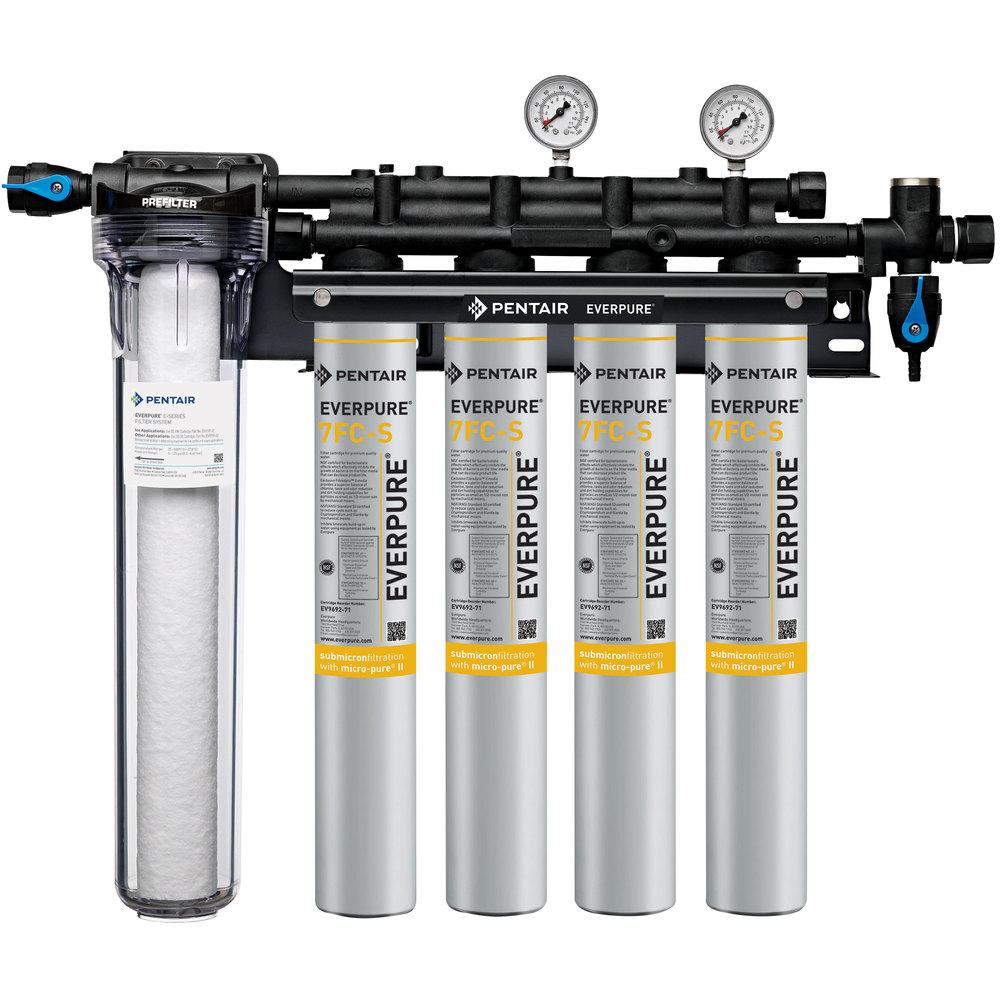 Everpure ev9327 74 insurice pf quad 7fc s water filtration for Everpure filtration system
