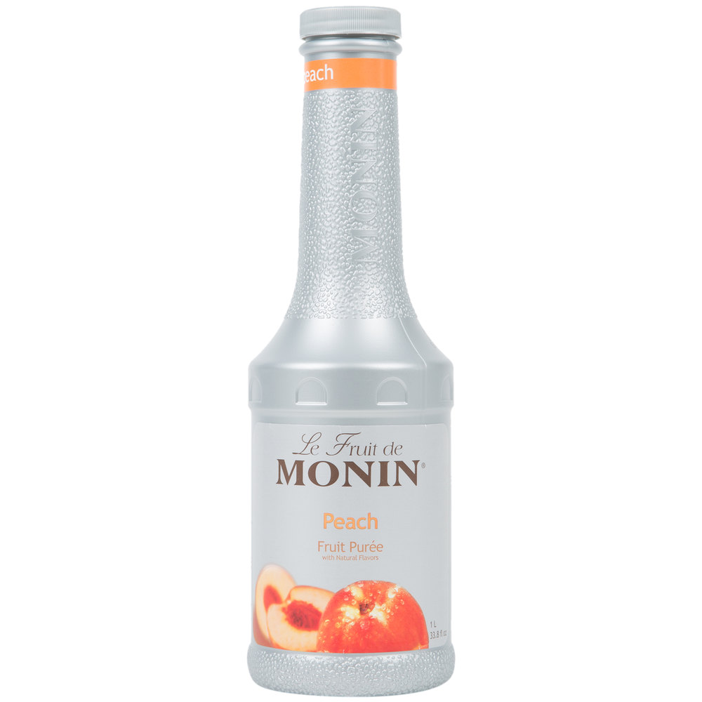 Monin 1 Liter Peach Fruit Puree