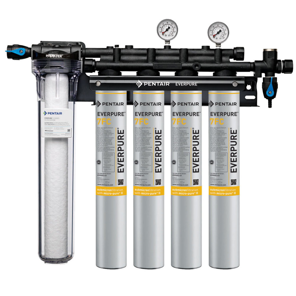 Everpure ev9328 74 coldrink 4 7fc water filtration system for Everpure water filter system