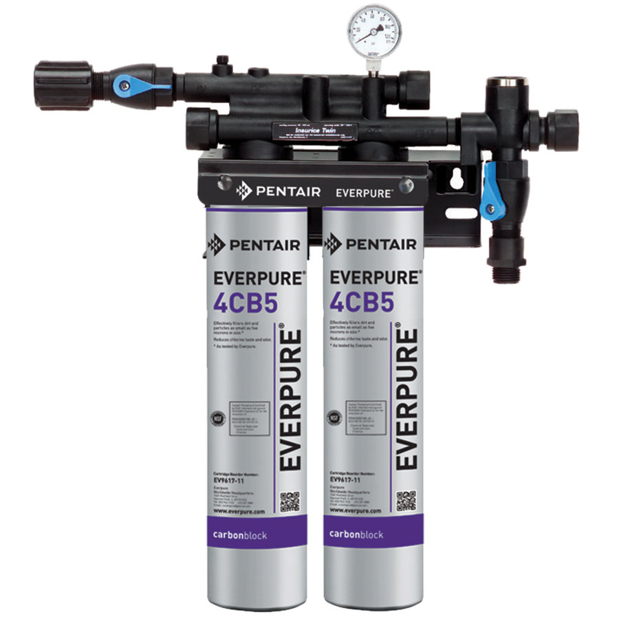Everpure ev9797 40 7cb5 twin water filtration system 5 for Everpure water filtration system