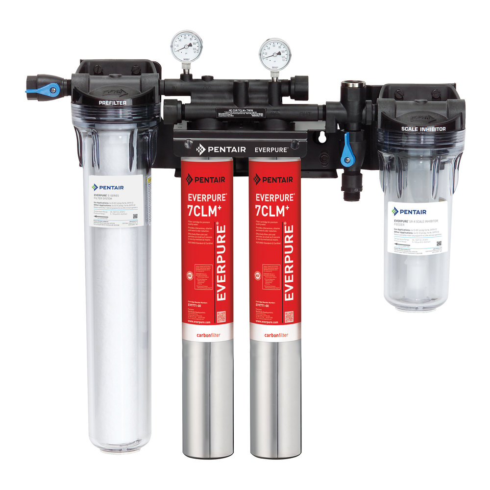 Everpure ev9771 32 high flow csr twin 7clm water for Everpure filter system