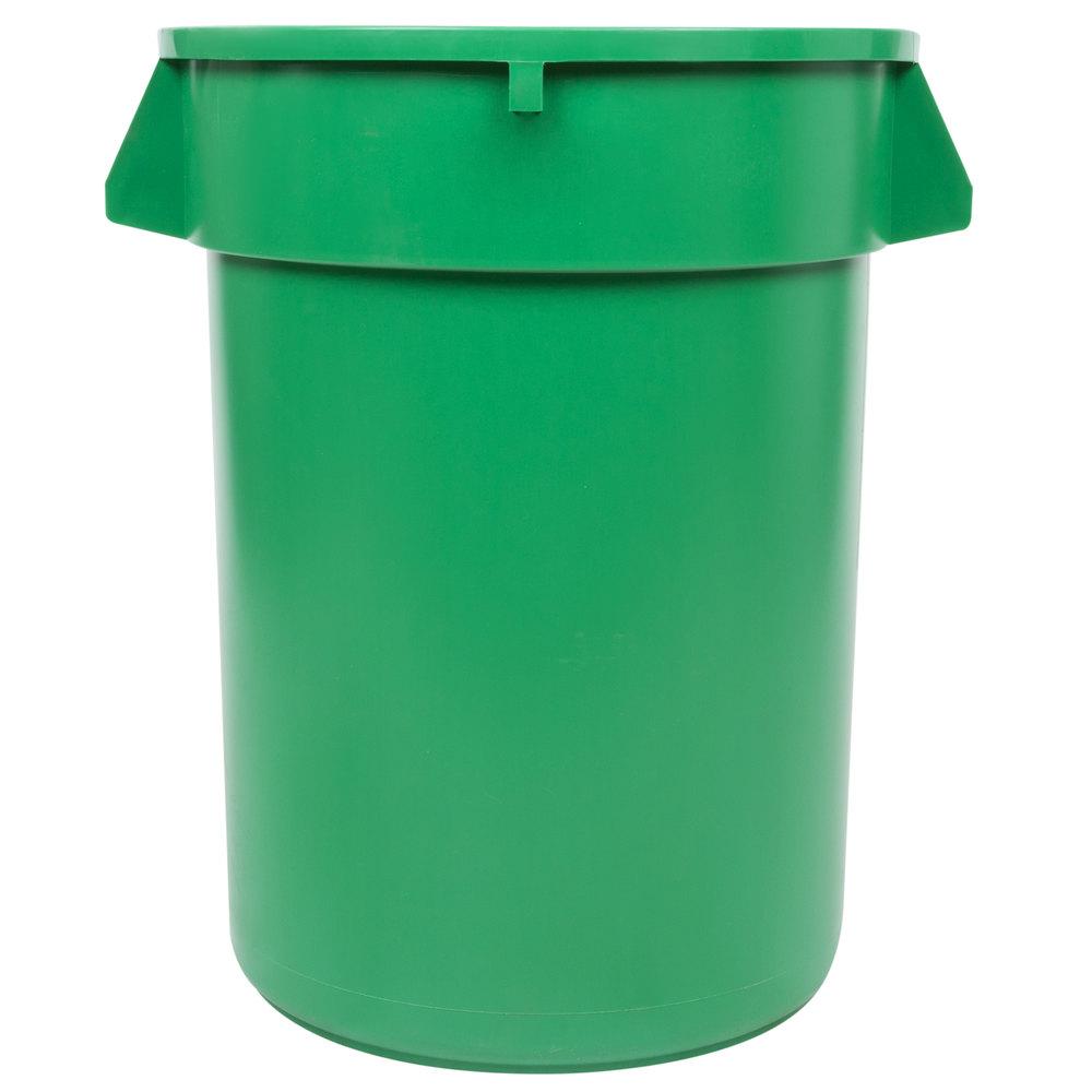 32 Gallon Green Trash Can