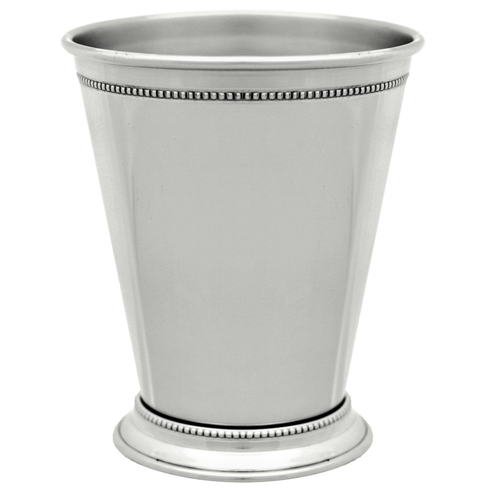 10 strawberry street nkl julep 12 oz nickel mint julep cup with nickel mint julep cup with beaded detailing main picture reviewsmspy