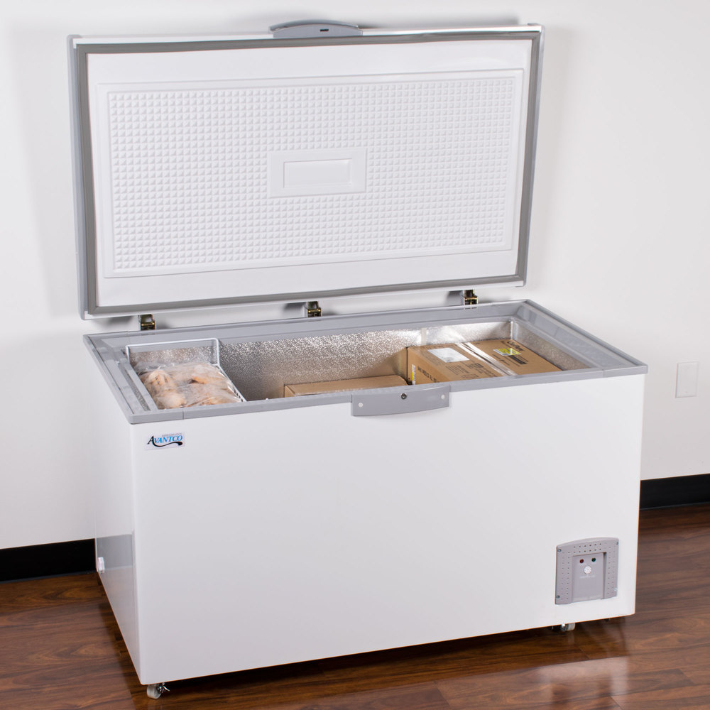 Avantco Cf14 14 4 Cu Ft Commercial Chest Freezer
