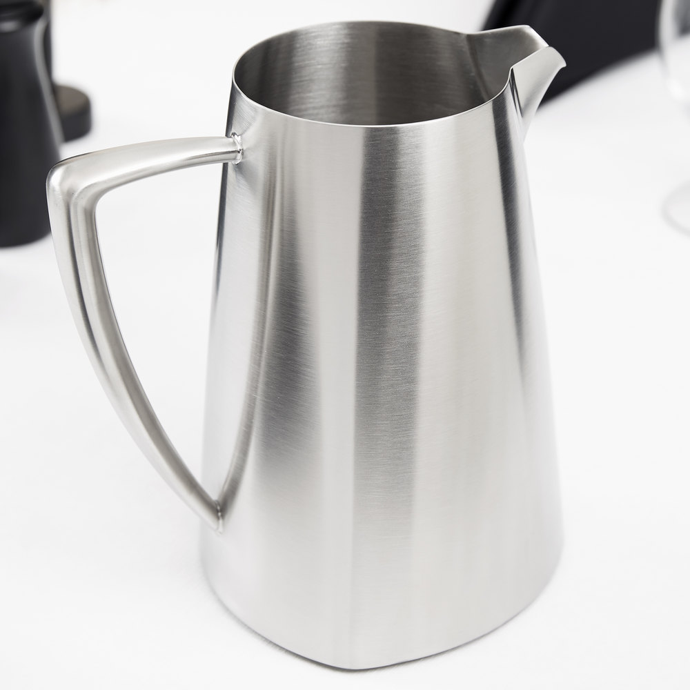 vollrath  triennium  qt satinfinished stainless steel  -  stainless steel water pitcher main picture · image preview · imagepreview · image preview · image preview · image preview