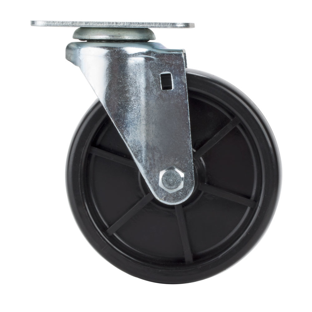 "Avantco SPC5 5"" Replacement Swivel Plate Caster for Avantco FF300, FF400, FF518 and Frymaster / Dean Floor Fryers"