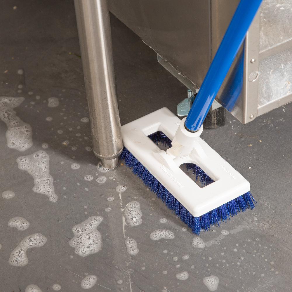 Scrub Kitchen Floor