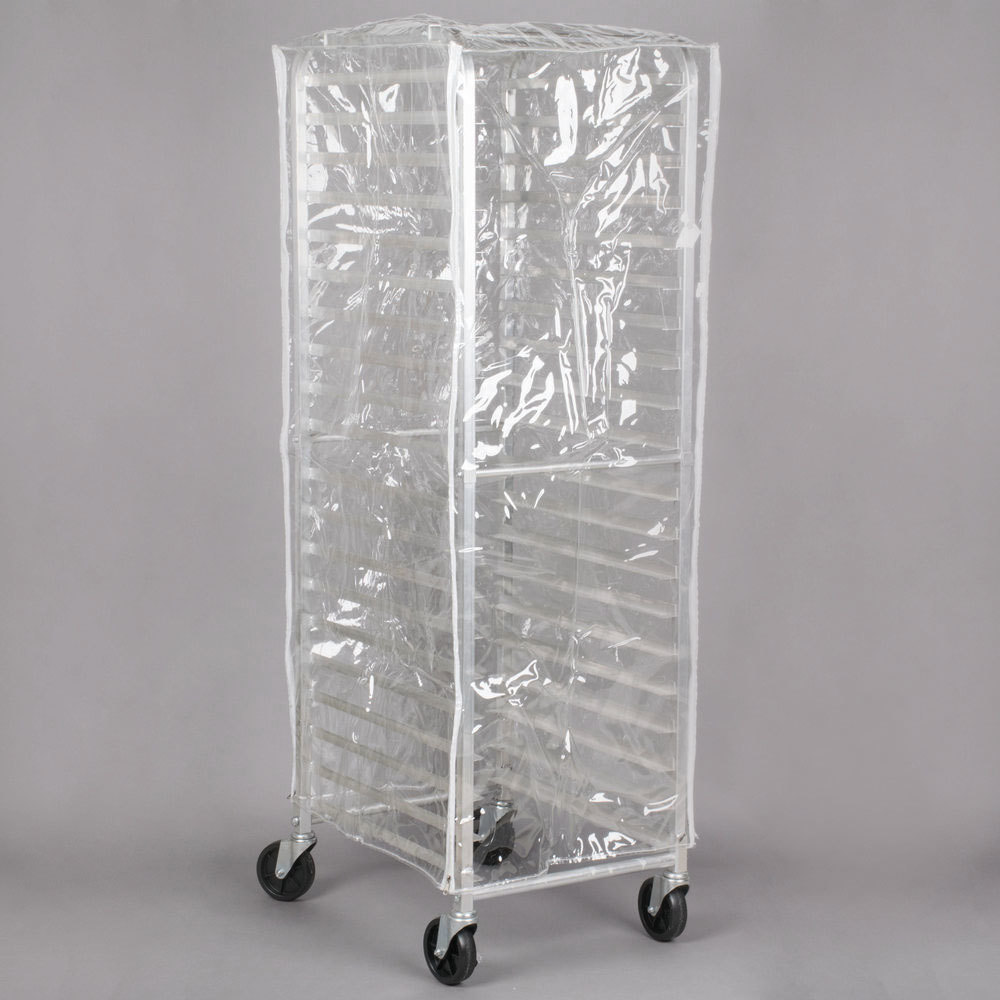 Regency 63 Quot Clear 14 Mil Plastic Bun Pan Rack Cover