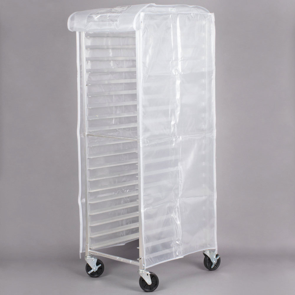 Regency 63 Quot Translucent 20 Mil Plastic Bun Pan Rack Cover