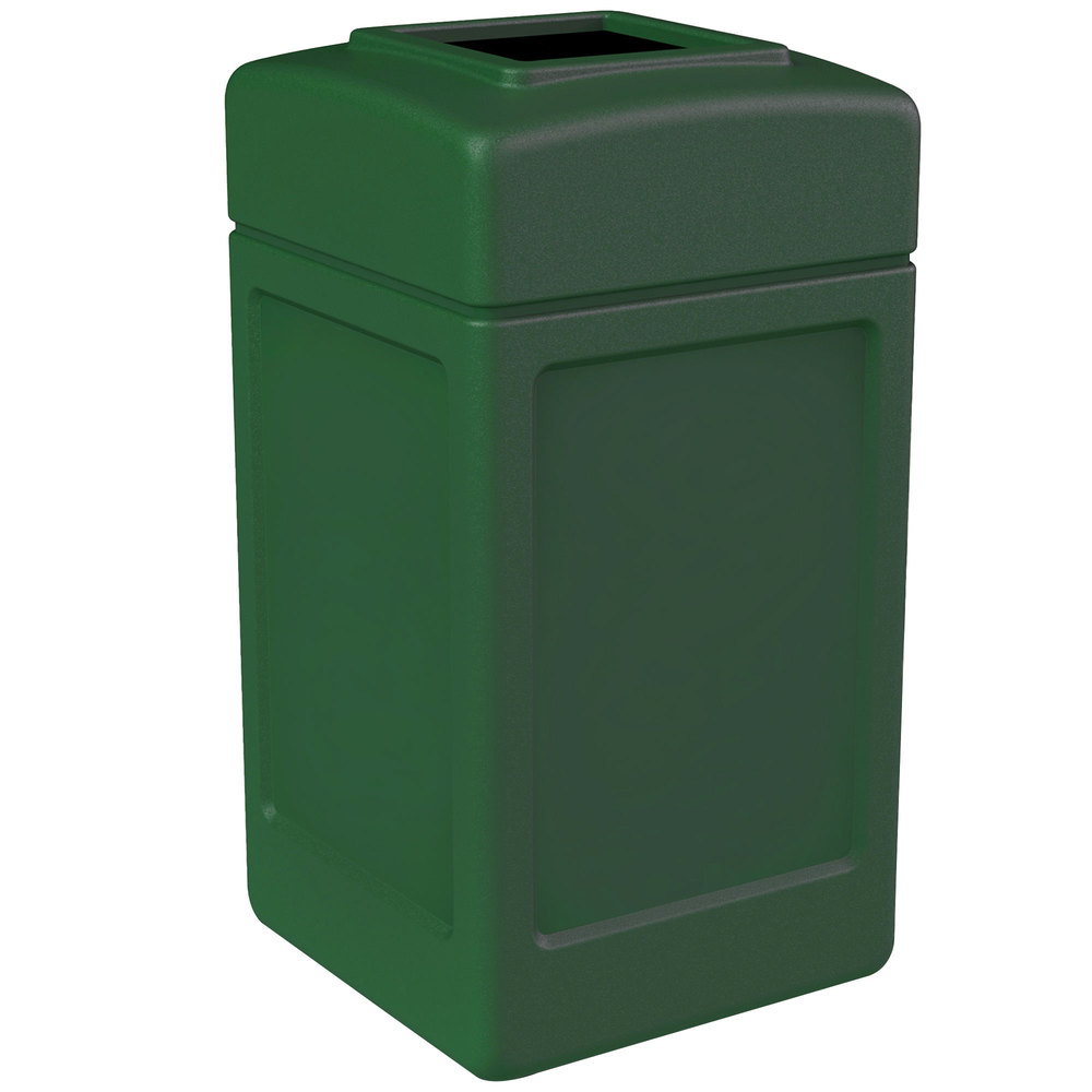 Commercial zone 732153 polytec 42 gallon green waste container - Garden waste containers ...