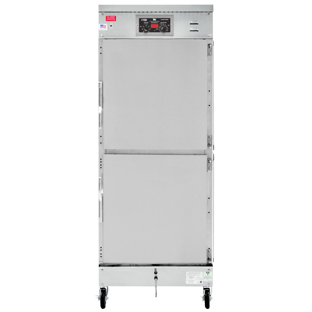 Winston Industries HL4022-AL CVAP Holding / Proofing Cabinet with Aluminum Exterior - 22 Cu. Ft.