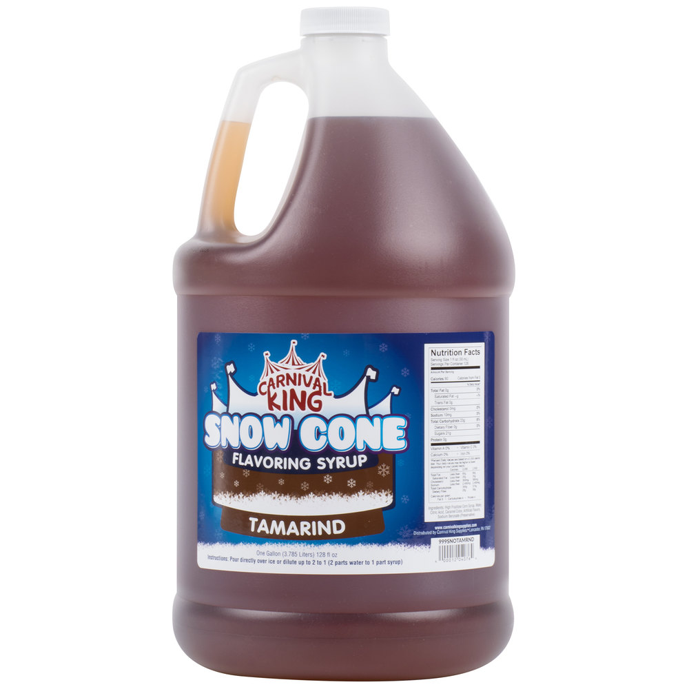 Carnival King 1 Gallon Tamarind Snow Cone Syrup