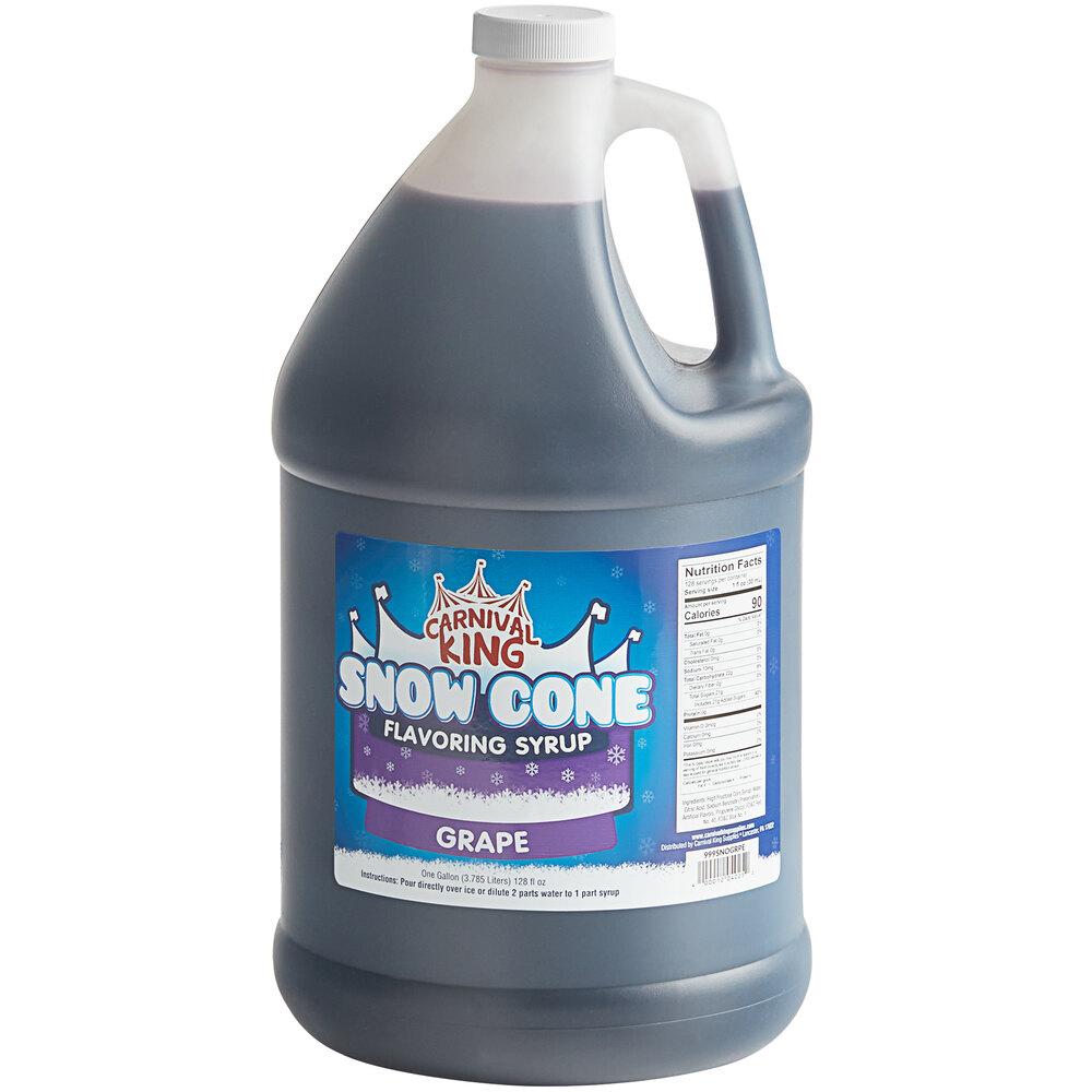 Carnival King 1 Gallon Grape Snow Cone Syrup
